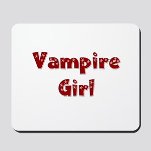Twilight ~ Vampire Girl [RED] Mousepad